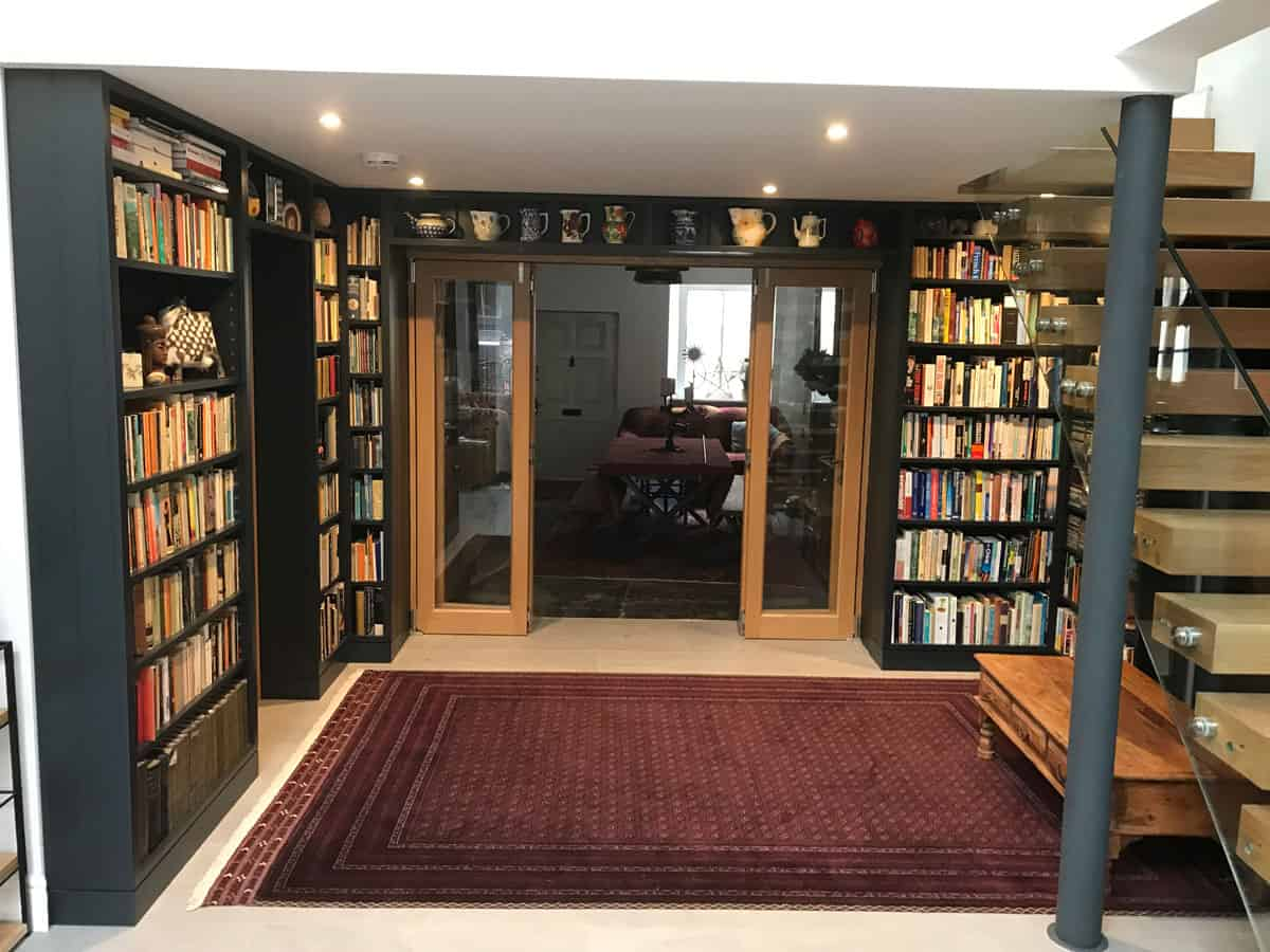 Handmade Library, Wells, Somerset, Valley of Bath