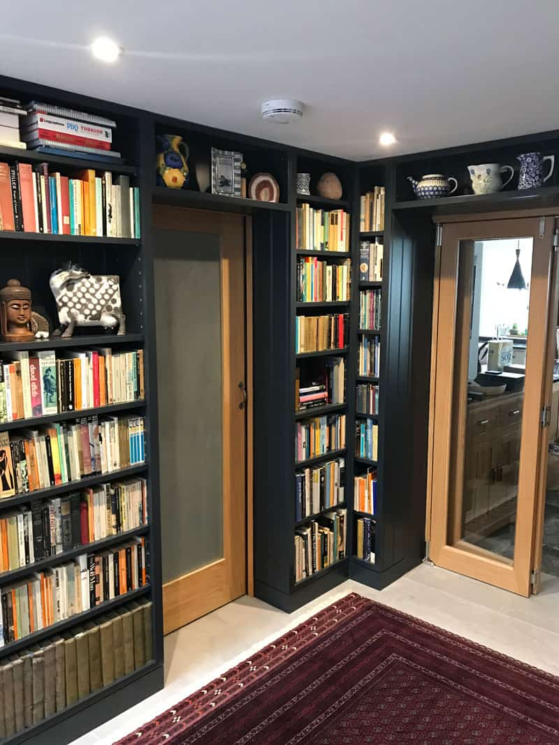 Bespoke Library, Wells, Somerset, Valley of Bath